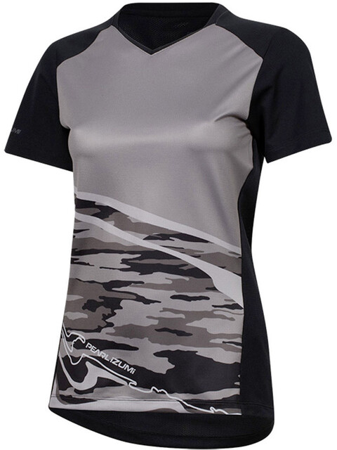 PEARL iZUMi Launch - Maillot manches courtes Femme - gris